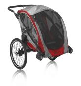Baby Jogger POD inkl. barnvagnshjul och cykelset, Crimson Grey