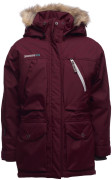 Estelle flickparka, Dark Maroon