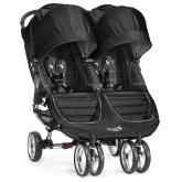 Baby Jogger City Mini Double, Black/Gray