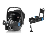 Britax Baby-Safe Plus SHR II inkl. b�ltad bas, Smart Zebra